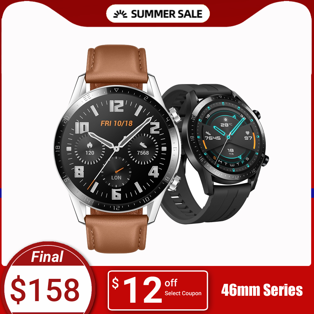 In Stock Huawei Watch GT 2 Smart watch Bluetooth Smartwatch 5.1 14 Days Battery Life Phone Call Heart Rate For Android iOS|Smart Watches|Consumer Electronics - AliExpress