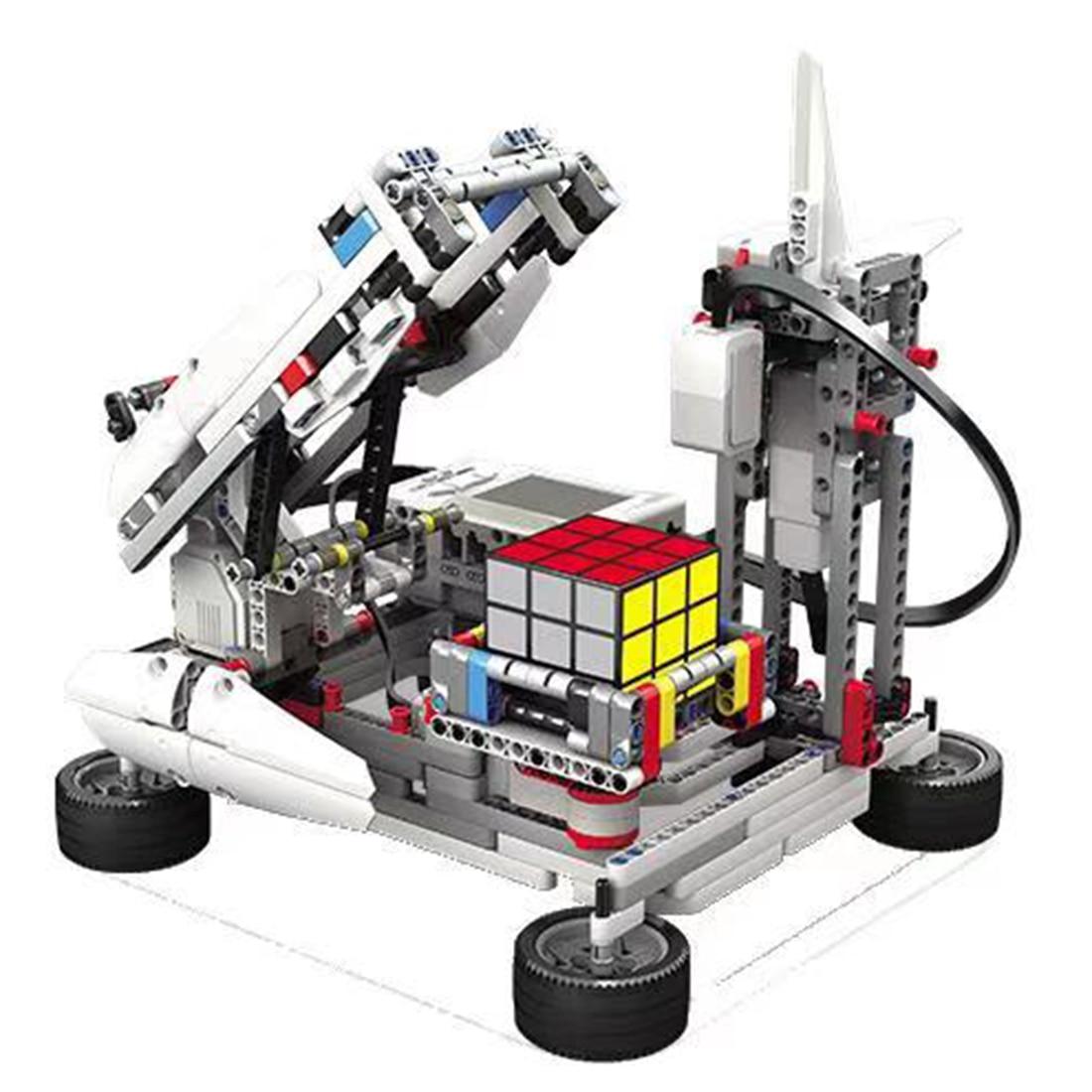 Programmable Building Block Assembly Robot Kit DIY Multifunctional Educational Learning Kit