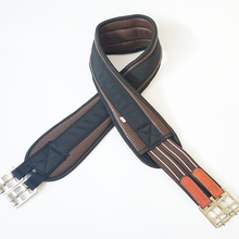 Equestrian Equipment Horse Girth, Hibiscus Leather English Girth, Pommel Harness, Integrated Horse Girth for Horse Riding