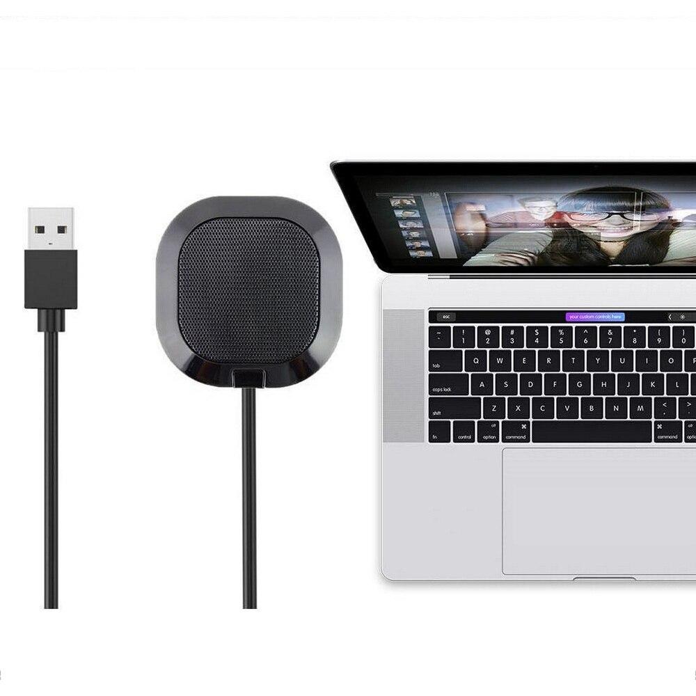 USB Video Microphone Omnidirectional Microphone 5.5V Mini Audio Mic Computer Laptop Mobile Phone Audio Equipment Amplifier