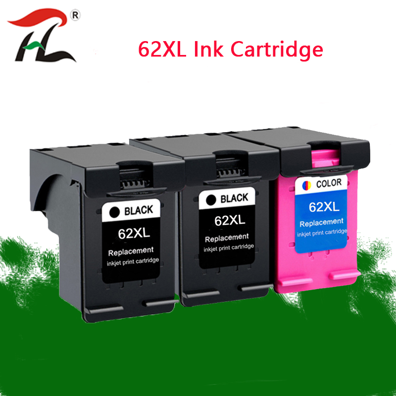 62XL Ink Cartridge For Hp 62 Xl Hp62 Cartridge For HP Envy 5640 5540 5660 OfficeJet 200 5740 5542 7640 Printer