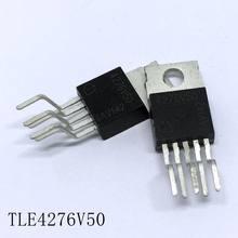 Reguladores lineares tle4276v50 to-220-5 400ma/5 v 10 unidades/lotes novo em estoque