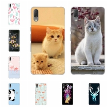 For Sony Xperia L3 Case Ultra-thin Soft TPU Silicone Cover Cute Cartoon Patterned Shell