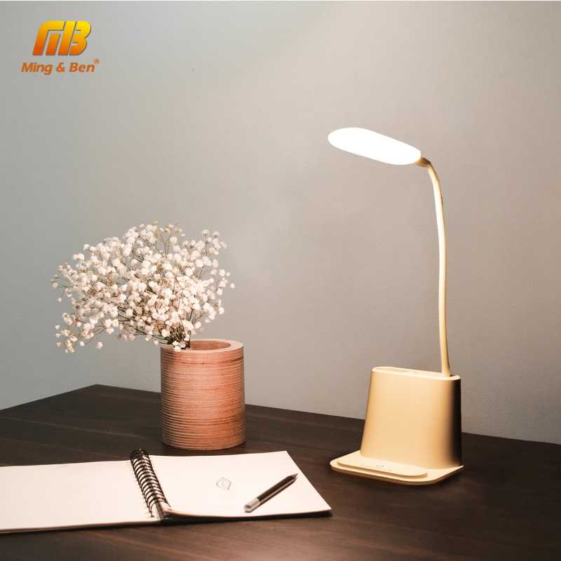 USB Перезаряжаемый Светодиодный настольный светильник с сенсорным затемнением для защиты глаз, настольная лампа для детей, для чтения, для учебы, прикроватный, для спальни, Настольный светильник