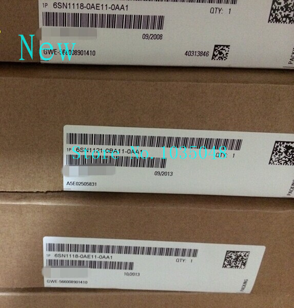 1PC 6SN1121 0BA11 0AA1   6SN1 121 0BA11 0AA1   New and Original Priority use of DHL delivery Remote Controls     - title=