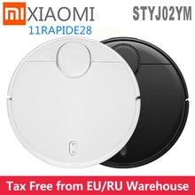 Plus récent Xiaomi Pro Stytj02YM Mijia Mi Robot aspirateur vadrouille balayage Cleaner2 ld APP contrôle Mi maison 2100pa sec humide nettoyage appareil à la maison