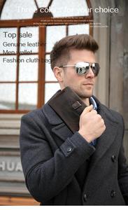 Image 5 - Westal財布男性本革メンズ財布クレジットカードホルダークラッチ男性バッグコイン財布男性本革9041