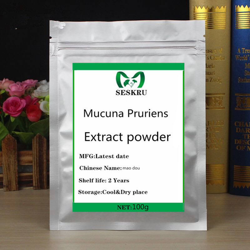 The most powerful organic Mucuna Pruriens Extract powder 99% L-Dopa Powder, which promotes protein supplements for good health image