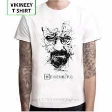 New Arrivals T Shirt Men Fashion printing Breaking Bad I Am The One Who Knocks Heisenberg Men Tee Short Sleeve hipster Tops