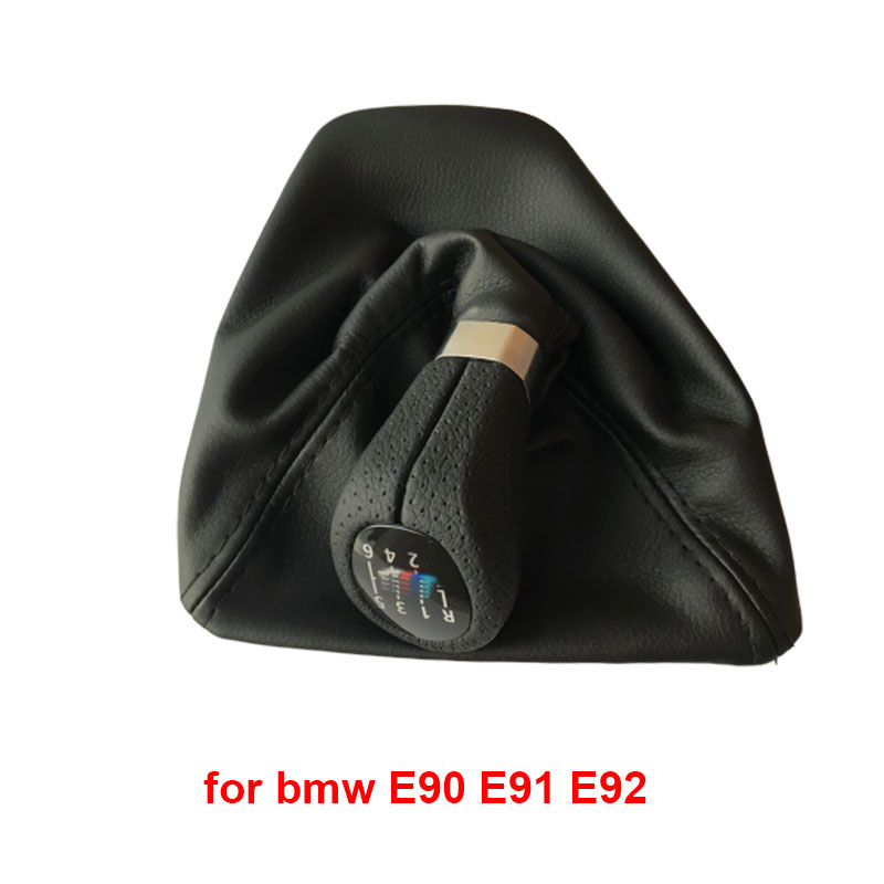 For Bmw 1 Series E81 E82 E87 E88 E90 E91 E92 E93 Car Shift Knob Gear Knob Car Styling Accessories in Gear Shift Knob from Automobiles Motorcycles