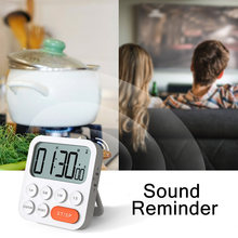 Magnetic Digital Kitchen Timer Electronic Countdown Time Counter Alarm Clock Mechanical Timer For Cooking Shower Study Stopwatch