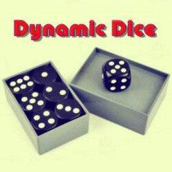 Dados dinâmicos-truques de magia tour de magie close-up ilusões truque adereços clássico brinquedos mágicos comédia mágico