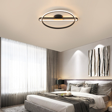 Nowoczesne lampy sufitowe Led do sypialni salon oprawy lampy sufitowe strona główna kuchnia Baclony Study oprawy oświetleniowe 110-220V tanie tanio NoEnName_Null CN (pochodzenie) Metrów 5-10square 90-260 v Aluminium iron Żarówki led Oświetlenie dzienne Akryl ZX-102