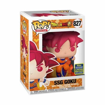 FUNKO POP Dragon Ball Super Saiyan Goku #827 Action Figure Toys 10cm Vinly Model Dolls for Kids Birthday Gifts 3