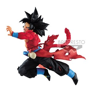 Image 2 - Tronzo Original Heroes 9th Anniversary SSJ4 Goku XENO PVC Action Figure Model Toys Super Saiyan 4 Figurine