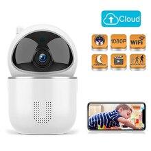 1080 p nuvem câmera ip monitor do bebê inteligente monitoramento automático vigilância de segurança em casa sem fio wi fi cctv monitor do bebê câmera