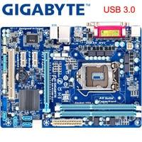 GIGABYTE GA B75M D3V Desktop Motherboard B75 Socket LGA 1155 i3 i5 i7 DDR3 32G Micro ATX Original B75M D3V Used  Mainboard H61|Motherboards| |  -