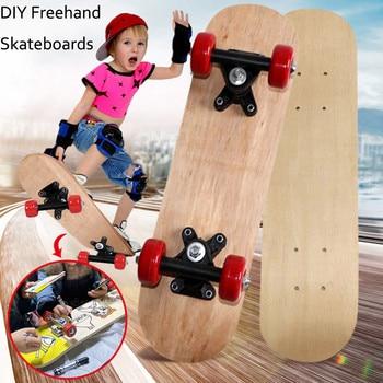 Children Skateboard Complete DIY Freehand Skateboards for Beginners Graffiti For Boys Girls Kids Skate Board Accessories30