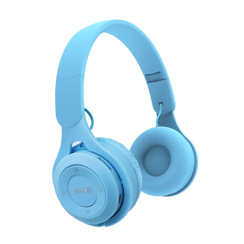 Складные Bluetooth-наушники, беспроводные наушники с поддержкой TF-карты, аудио, aux, Проводные для телефона, ПК, игровые наушники, детский подарок