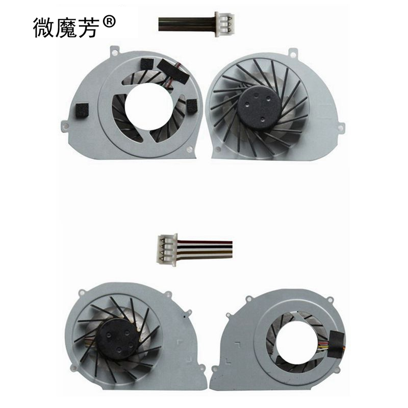 New cpu cooling <font><b>fan</b></font> for Toshiba Satellite T130 T131 T132 T133 cooler AD7005HX-QBB 4 wires for Acer Ferrari One <font><b>200</b></font> COOLER image