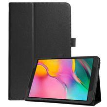 Funda para samsung galaxy tab um 10.1 10 2019 Sm-t510 Sm-t515 t510 suporte magnético caso capa de couro flip tablet caso inteligente capa