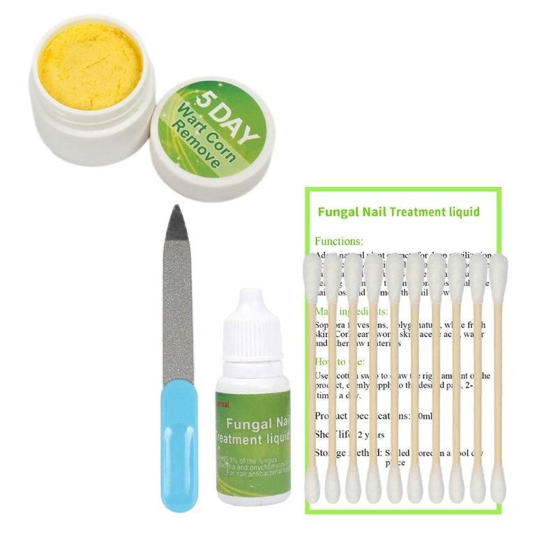 Chinese Medicine Herbs Toe Nail Fungus Treatment Anti Fungal Nail Infection Essence Nail Treatment Removal Nail Care Lotion
