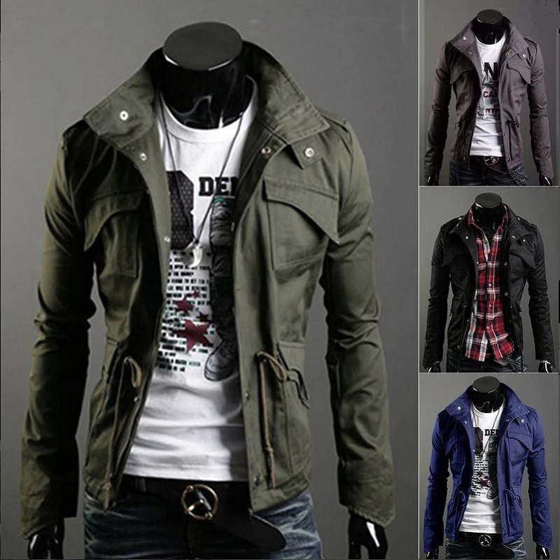 Pilot Coat Flight-Jacket Windbreaker Cargo Men Spring Male Autumn Men's Cotton title=