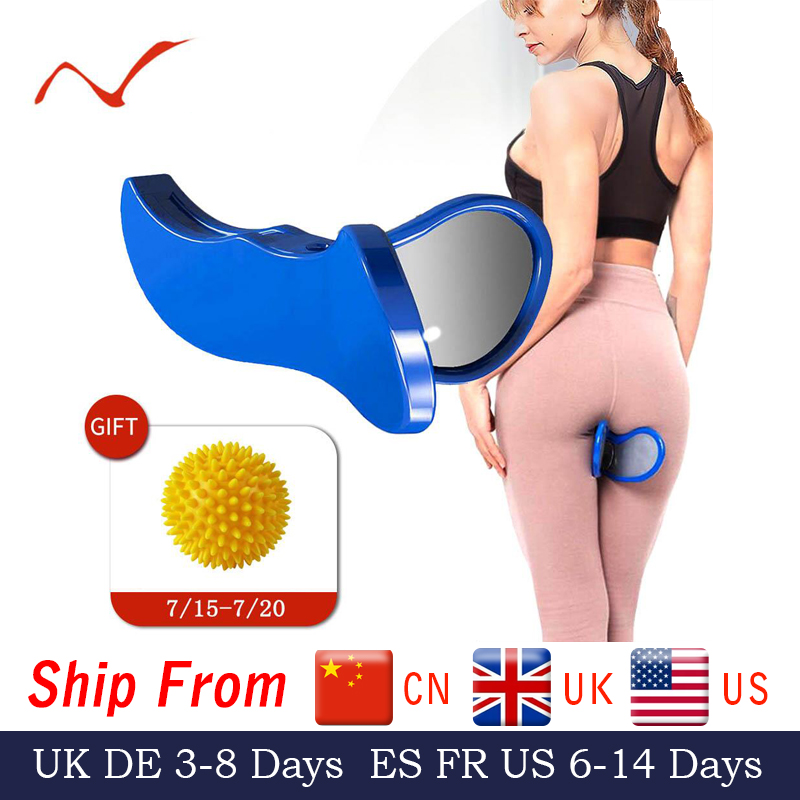 Pelvic Floor Muscle Inner Thigh Exerciser Hip Trainer Butt Training Home Equipment Fitness Tool Correction Buttocks Device(China)