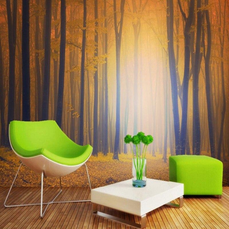 Dropship tapeta dżungla Fantasy piękny las 3d tapeta na ścianę Foto Mural Livng pokój Fototapeta nowocasna