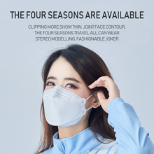 Authentic 10 pcs KN95 Dustproof Anti-fog And Breathable Face Masks 95% Filtration Anti Virus N95 Masks Features as KF94 FFP3