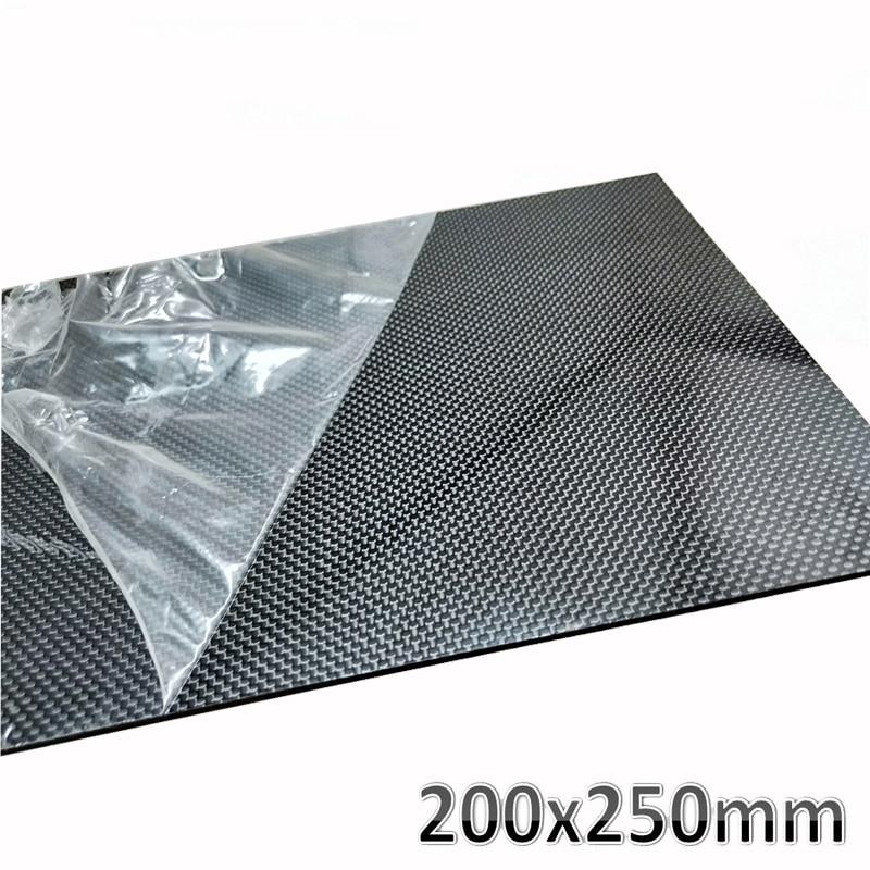 3.0mm 500x600mm 100/% 3K Carbon Fiber Sheet Twill Matte Surface