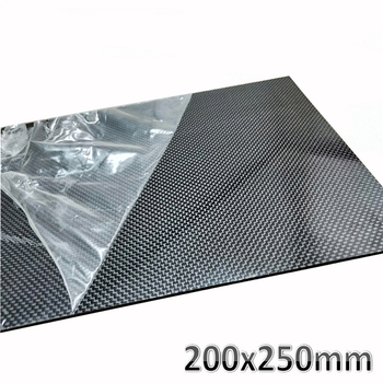 1pcs 200x250mm 3K High Hardness Carbon Fiber sheets 100% Pure Carbon Panel Board 0.5mm-5mm Thickness Carbon fiber model material 1pcs 200x250mm 3k high hardness carbon fiber sheets 100% pure carbon panel board 0 5mm 5mm thickness carbon fiber model material