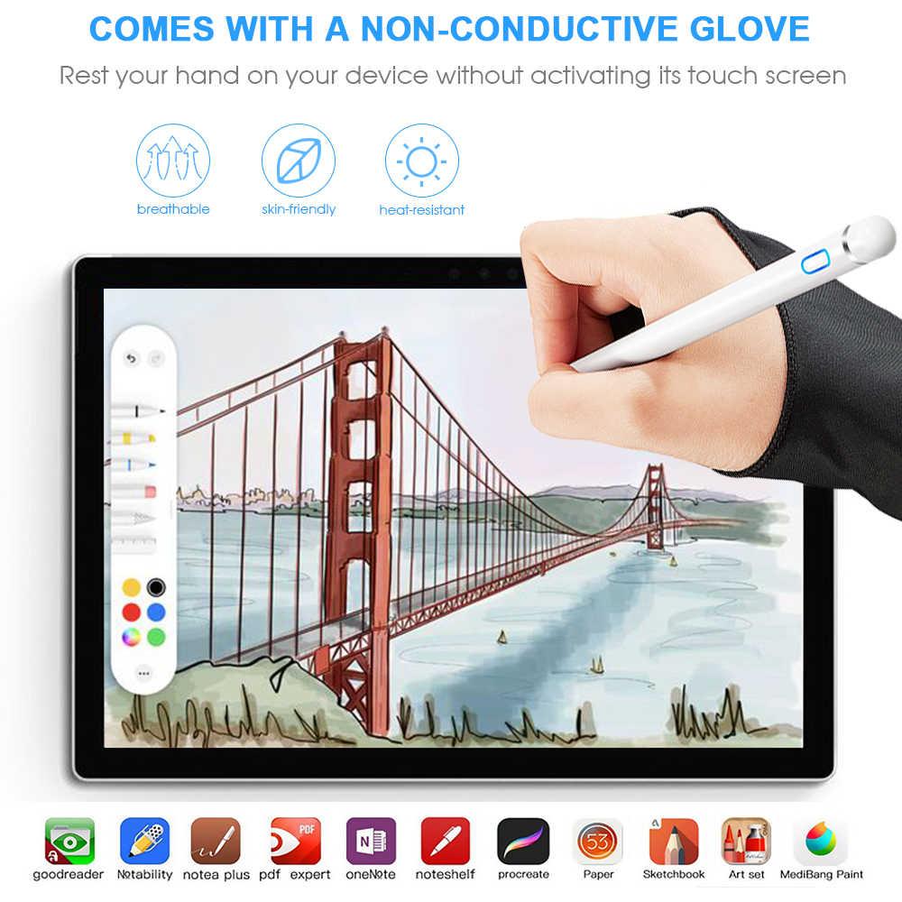 Pena do estilete de goojodoq toque para o ipad do lápis de maçã pro ar 2 3 mini 4 caneta de estilete para samsung huawei tablet ios/android telefone móvel