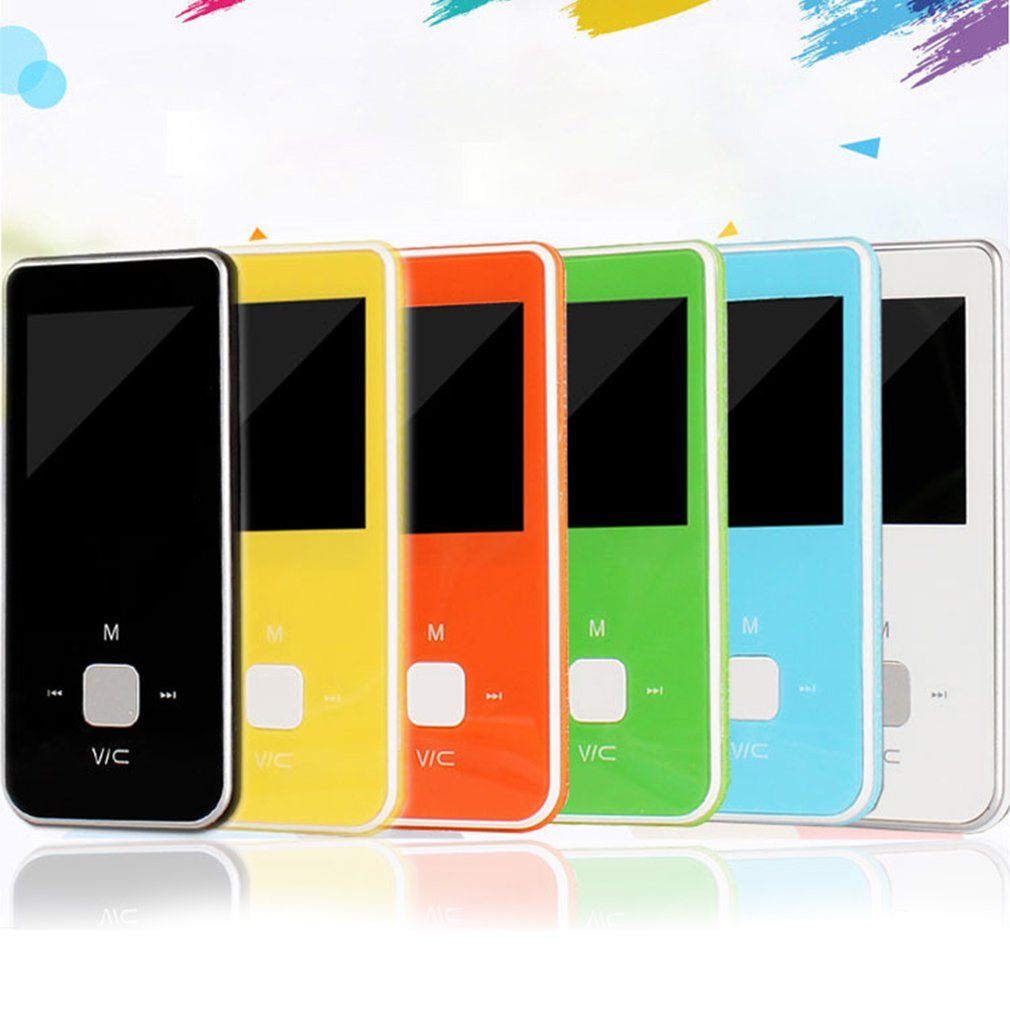 2019 New Portable Color Screen HiFi MP3 Music Player With FM Lossless Sound Voice Recorder Up to 32GB <font><b>MP4</b></font> Player image