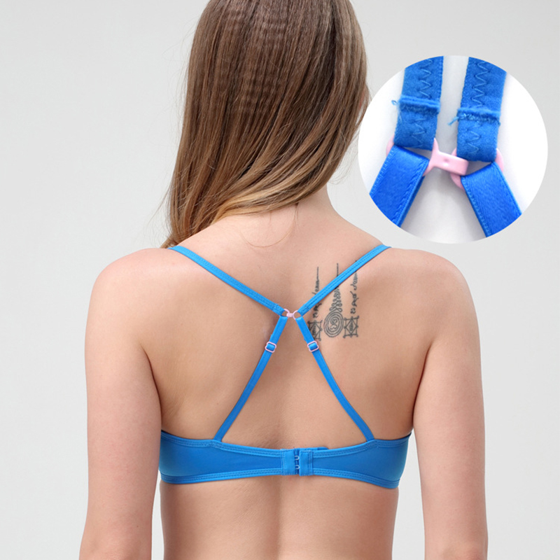 Sexy Deep V Cup plus size women bra push up bra Sexy Deep V Cup bra plus size Red blue bra Accept custom in Bra Brief Sets from Underwear Sleepwears