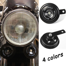 12V Motorcycle Horn Loud Chrome Kit Electric Sound Covers For KAWASAKI ZZR 600 Z900 ZR7 ZZR 1100 KLE 500 ER5 Z1000 2007