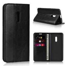 Genuine Leather Wallet Phone Cases Coque for OPPO F1 F1S F1A A39 A57 A59M A3 Slim Business Book Cover For realme X
