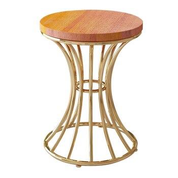 European creative stool home bench bedroom makeup stool dressing chair modern minimalist stool chair