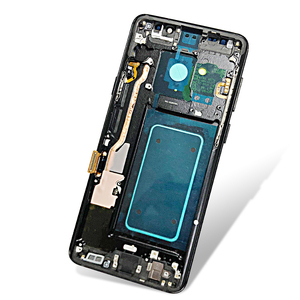 Image 4 - AMOLED for SAMSUNG Galaxy S9 Plus LCD Touch Screen Digitizer Assembly with Frame S9+ S9 LCD G960 G965 Replacement
