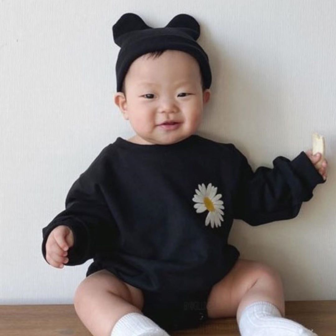 Baby Bodysuit 2020 Spring New Creative Three-dimensional Baby Cloth Twins Baby Clothes(Not Including Hats)