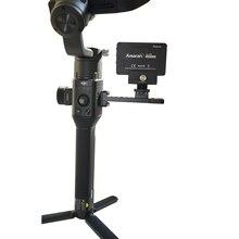 For DJI Ronin S Accessories Extended Board Bracket Alloy External Mount Plate Monitor Holder For DJI Ronin SC Handheld Gimbal