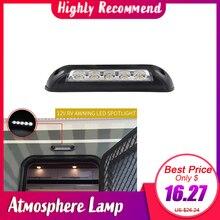 Auto Styling 12V Waterdichte Interieur Muur Lampen Licht Bar RV LED Luifel Veranda Licht voor Camper Caravan RV Van