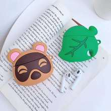 Hot Game Animal Crossing New Horizons 3D Earphone Case for Airpods 1/2/Pro Case Silicone Cute Cartoo