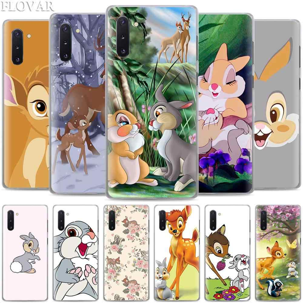 Bambi Thumper Phone Cases for Samsung Galaxy Note 10 S10 Plus 5G S10e A30 A40 A50 A60 A70 M40 Hard Cover Coque
