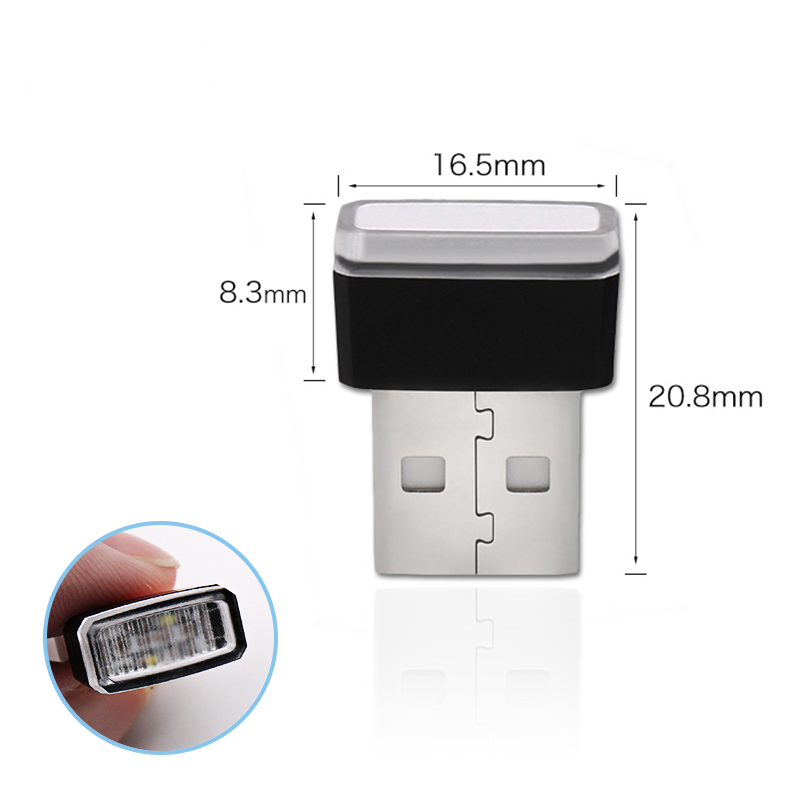 Car Ambient Neon Interior Mini USB Light LED Modeling For BMW M M3 M5 G01 F20 G30 F30 F31 E36 E39 E87 E60 E46 E91 X1 X3 X5 E53