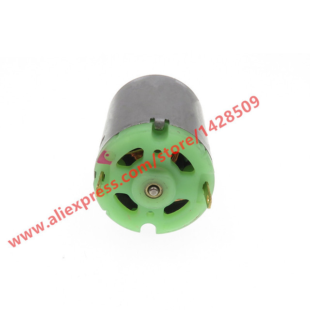 Micro motor de metal de alta calidad, 6V-12V, 385 Mini Motor CC de 14000RPM, juguete DIY, accesorios, torque poderoso