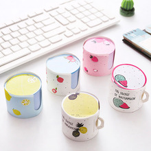 Little fairy cup shape note pad N times post creative message post-it student stationery