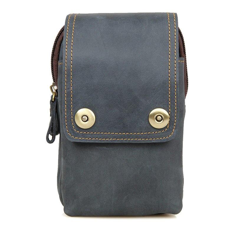 Мужская сумка из натуральной кожи с ремнем для путешествий
