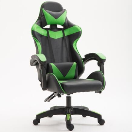 VESCOVO Silla Massage Gamer Chair Computer Gaming Adjustable chair leather office chair