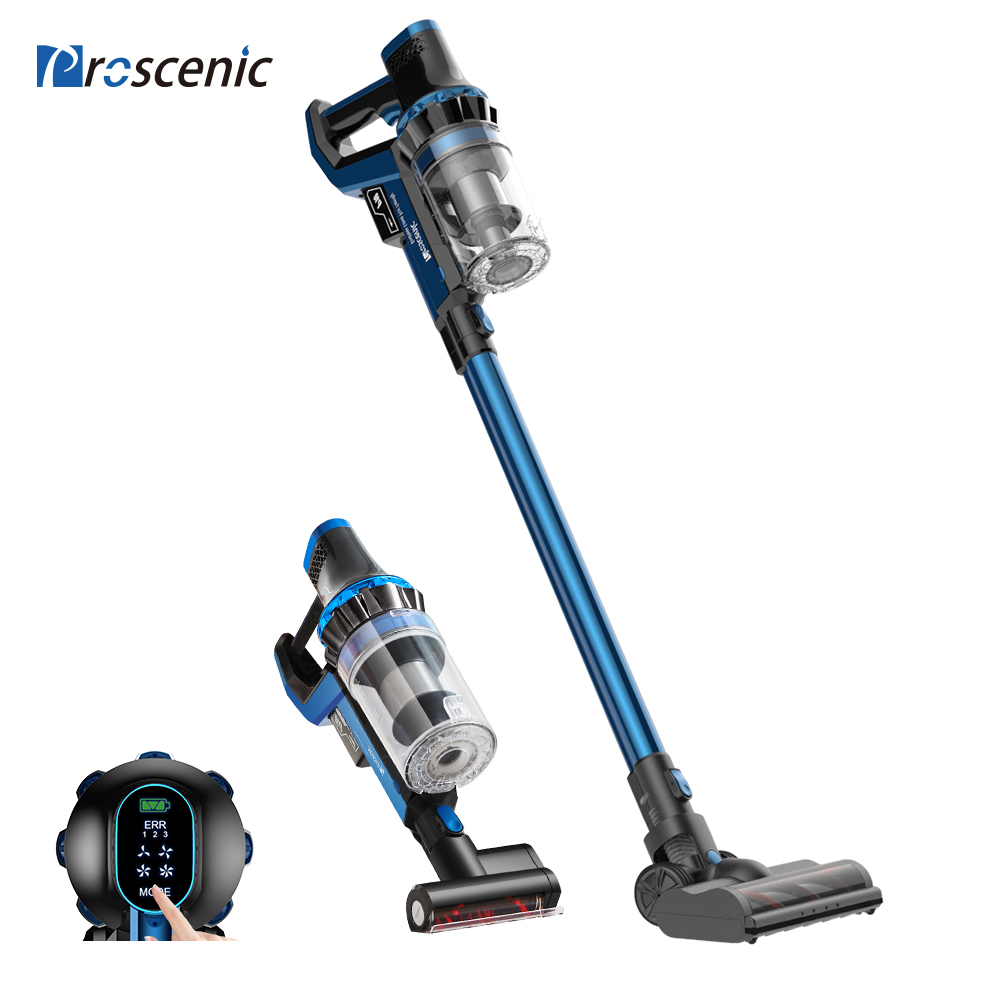 Proscenic P10 20500PA Cordless Handheld Vacuum Cleaner Cyclone Dust Collector For Home Carpet Car Vertical Vacuum Cleaner